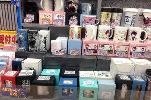 Diabolical Love mugs at Animate Akita