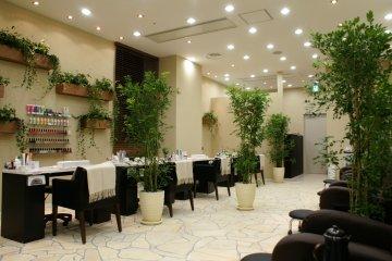 <p>SPANAIL&nbsp;Futakotamagawa salon</p>
