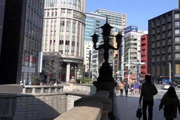 日本橋  道路元標