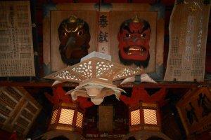 Des Tengu, créatures de la mythologie japonaise