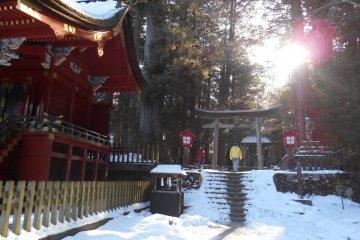 На пути к горе Фудзи