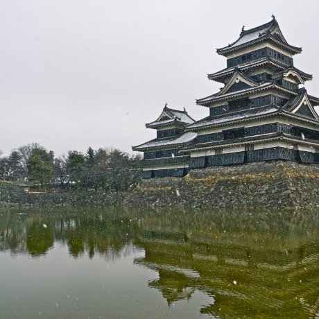 Matsumoto Castle in Winter