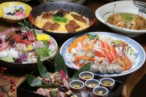 鰻料理はもちろん、100種類以上のメニューがあります