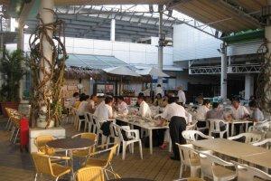 Inside the Beer Garden