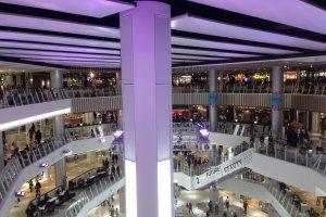Interior AEON Mall Okayama