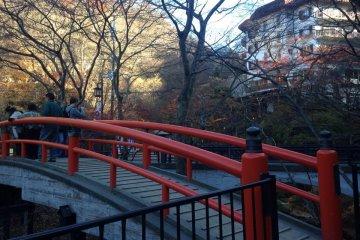 <p>Kajika Bridge</p>