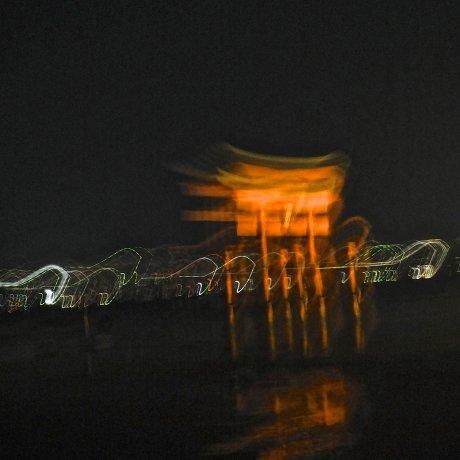 Otherworldly Miyajima at Night