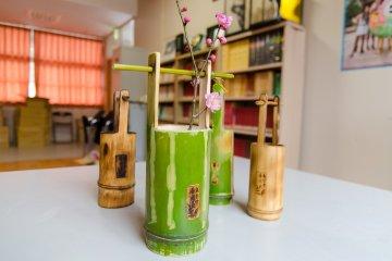 Membuat Kerajinan Bambu di Ishikawa