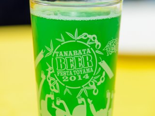 Un verre de bière aux fruits