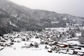 Традиционная деревня Сиракава-го