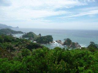 View of Suruga Bay.