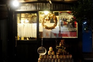 <p>The bright lights of Bistro Petit Lapin will guide you to a great meal</p>