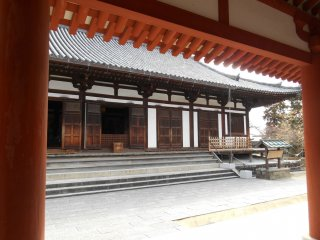 The Toindo, meditation Hall houses bronze statue of Sho-Kannon