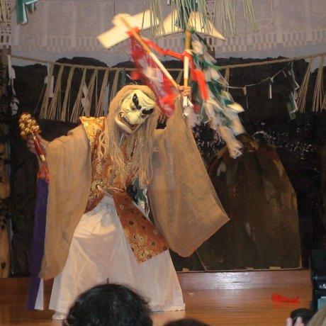 Night Dances at Takachiho Shrine