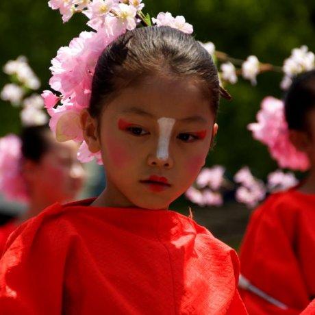 Festival Bunga Parade Yosakoi