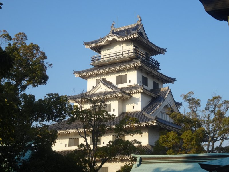 <p>Though only rebuilt in 1980, the tower keep is an impressive example of Japanese architecture</p>