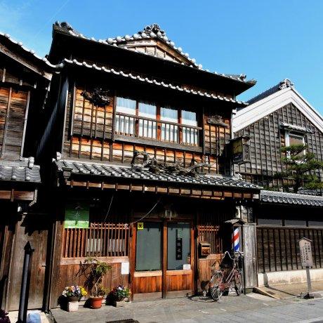 ช้อปปิ้งของที่ระลึกที่เมืองเก่าญี่ปุ่น