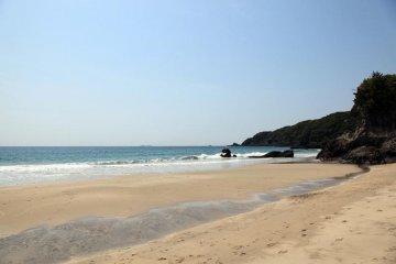 Ohama beach along the Shimoda coastline