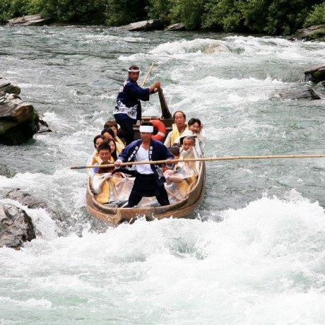 Shooting the Arakawa Rapids