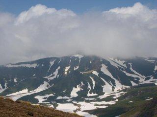 Khung cảnh từ Asahidake, hướng bắc