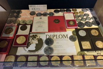 <p>Various awards won by Manns Wines</p>