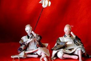 A couple of drunken samurai