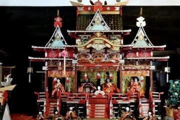Hina Doll Display at Kanzo Yashiki