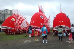 Cuộc chiến của các TAI-tans, Toyohama Tai Matsuri.