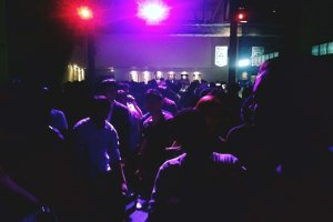 One of the smaller dance floors located in AgeHa