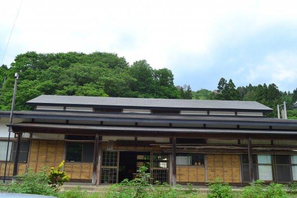 Bangunan tradisional Museum Pabrik Kertas ala Jepang