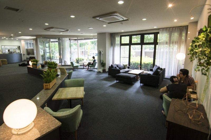 <p>媲美酒店水准的舒适前厅。</p>