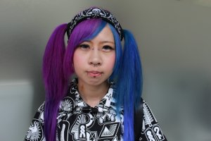 Capturing the individuality of the people in Tokyo