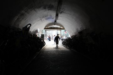 Playing with light, this tunnel gave me so many opportunities for experimental photography