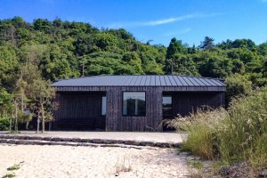 Located on an isolated beach, this retreat has a feeling of a sanitarium