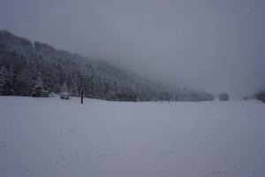 มองไปทางไหนเจอแต่กระเช้าขึ้นไปสกี