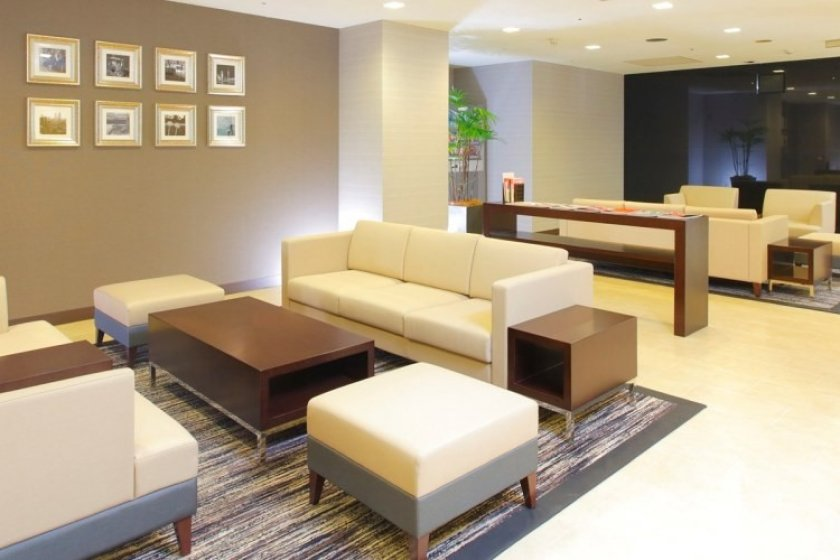 L'hôtel MyStays Nagoya-Sakae - Hall d'entrée.