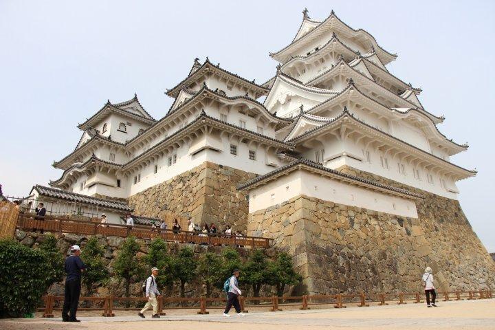 Le château d'Himeji restauré
