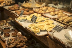 Some Café & Meal MUJI have adjoining bakeries, selling all sorts of delicious pasteries.