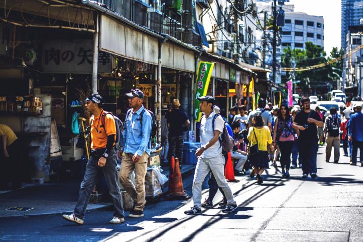 Autour du marché de Tsukiji