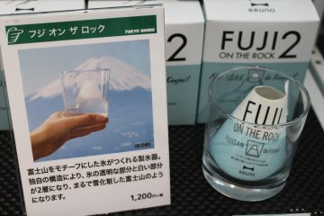 <p>付有富士山設計的商品無處不在</p>