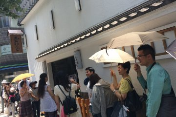 <p>Just... a little... more! A typical queue may last around 30 minutes, but oyakodon lovers are more than willing to stand in line.</p>