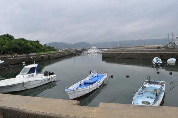 Inujima Fishing Harbour