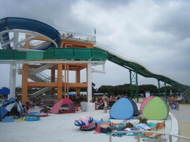 Inage Seaside Park Pool In Chiba Chiba Japan Travel