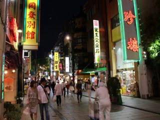 Major parts of Chinatown are full of restaurants