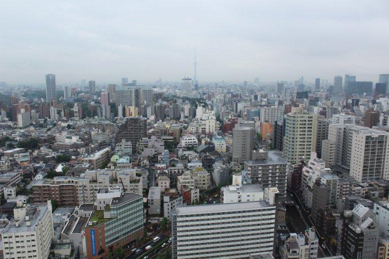 Bunkyo Civic Center Tokyo View