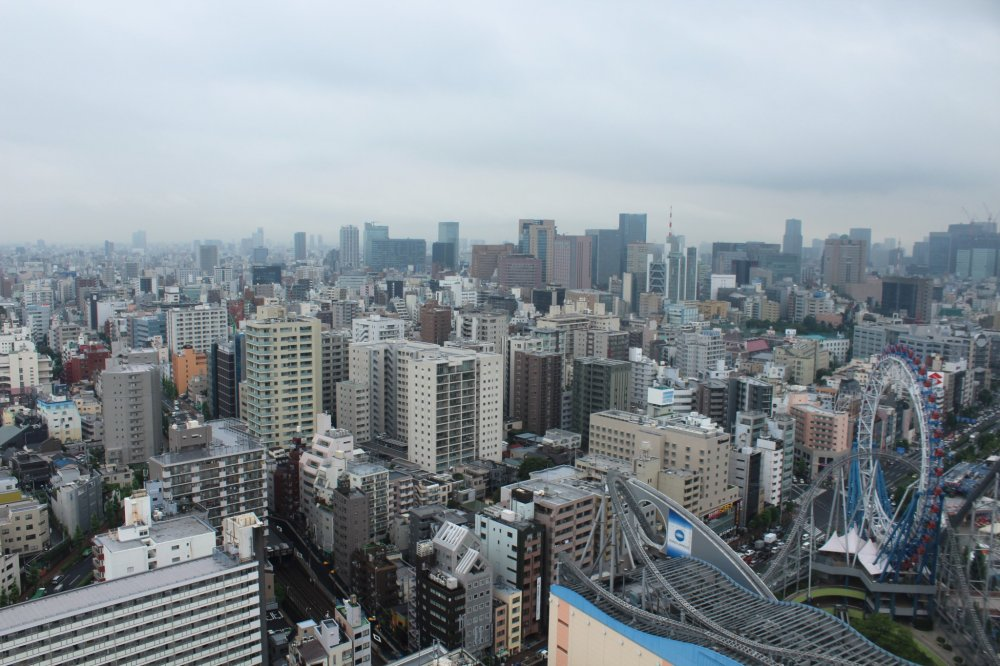 Another superb option to view Tokyo from above