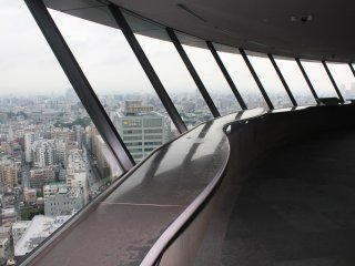 Less crowded than other observation decks and towers