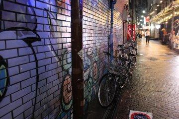 난 여기 길거리 예술이 좋아
