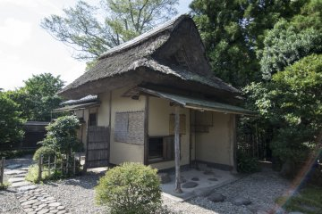<p>The original tea room of Meimei-An, designed by Lord Matsudaira Fumai himself. This tea room must&#39;ve seen hundreds of historic guests.</p>