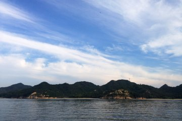 The fast ferry speeds past stunning wooded islands, many untouched by man.